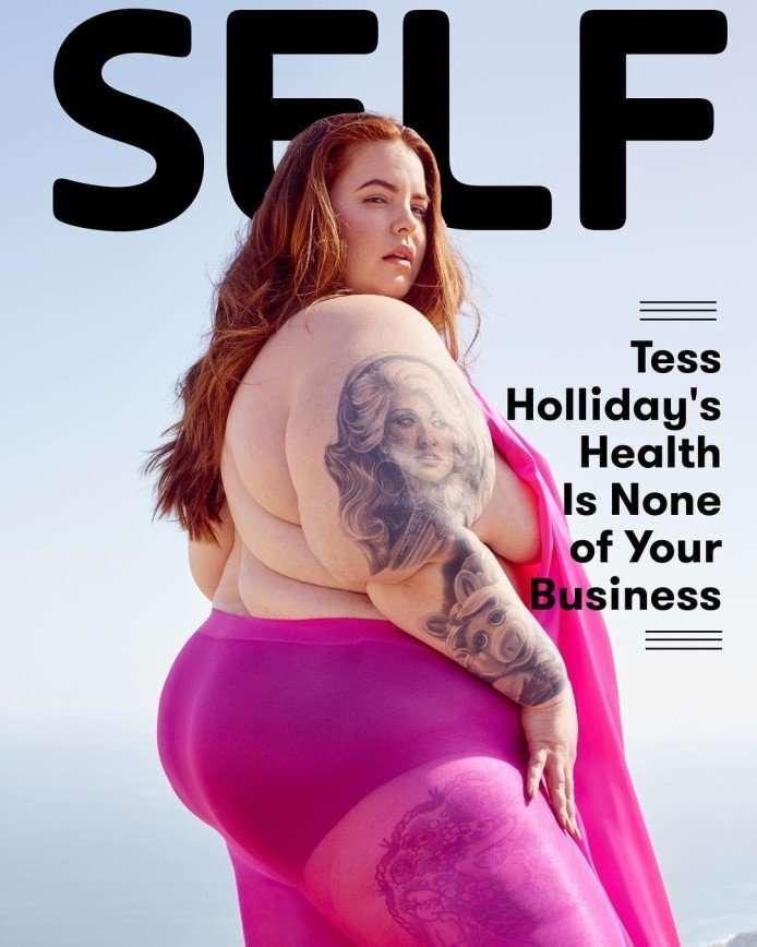 «Зачем мои глаза это видели?»: 155-килограммовая Тесс Холлидей опубликовала голое фото