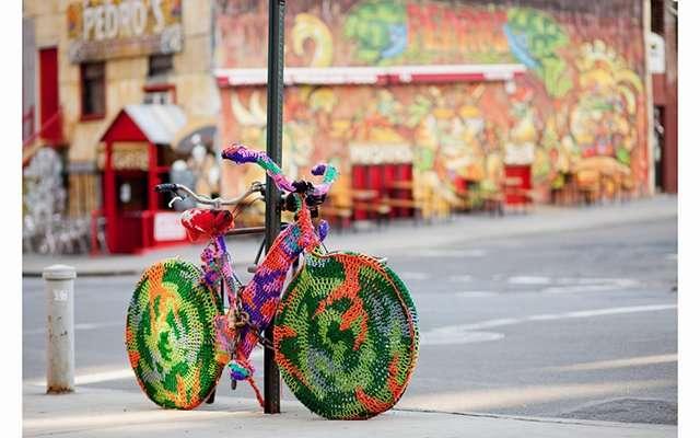 Urban knitting - Шерстяной стритарт