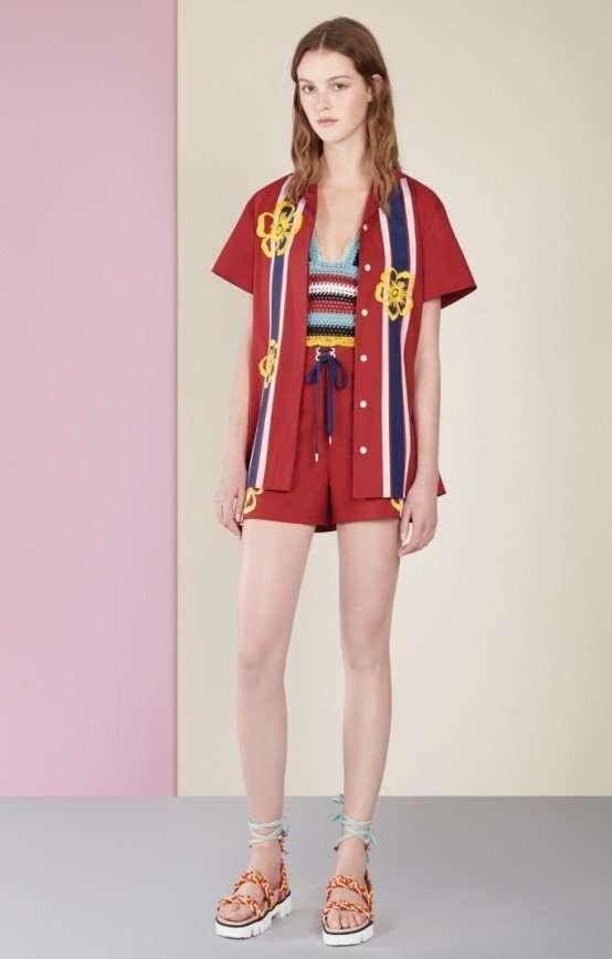 Коллекция Red Valentino, весна-лето 2017