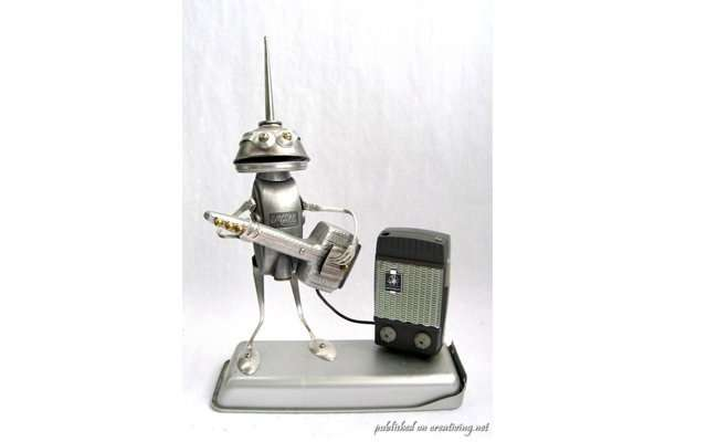 Забавные скульптуры из кухонной утвари Брайана Маршалла