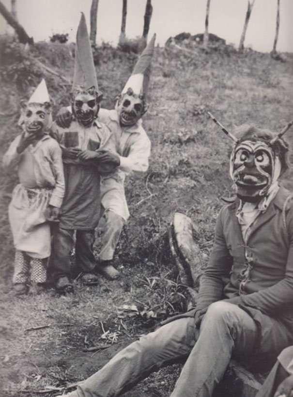 Настоящие ужасы Хэллоуина, или Как извращались наши предки