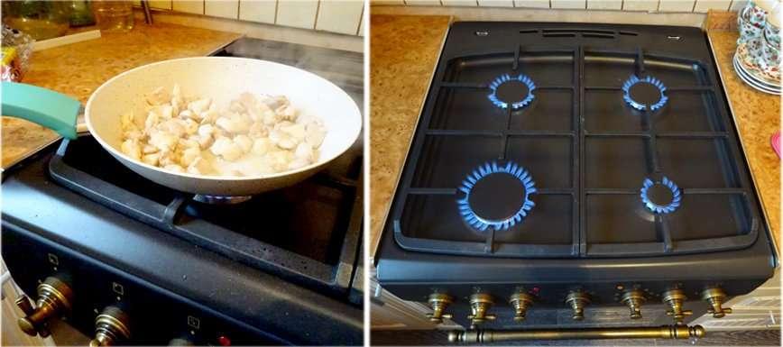 Тест-драйв плиты Hansa: готовим домашнюю пиццу