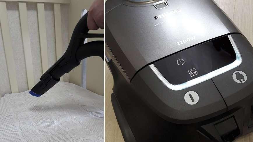 Тест-драйв пылесоса для чистоголиков от Philips