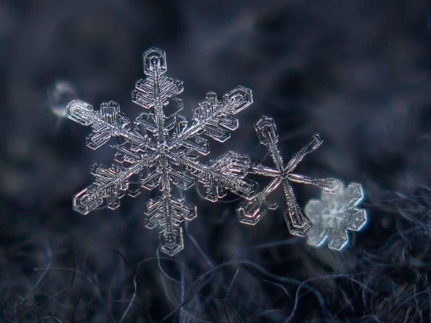 Московские снежинки