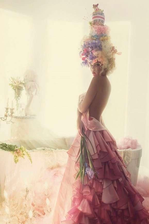 Фотопроект в стиле Марии-Антуанетты