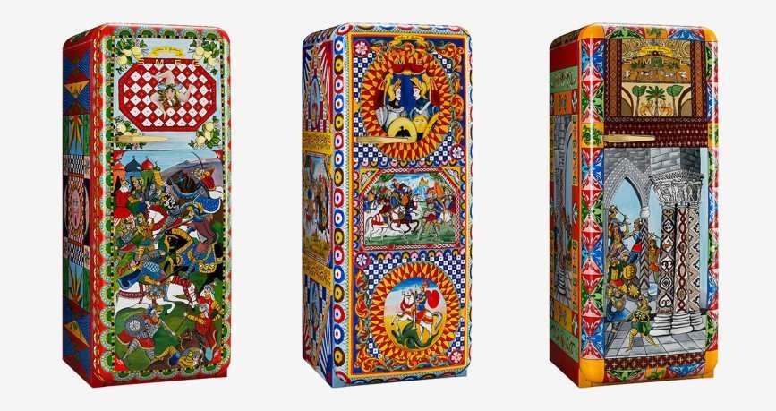 Коллекция холодильников от Dolce & Gabbana