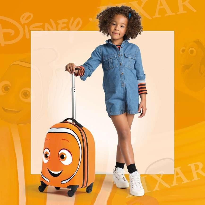Герои фильма «В поисках Дори» в новой коллекции Disney by Samsonite
